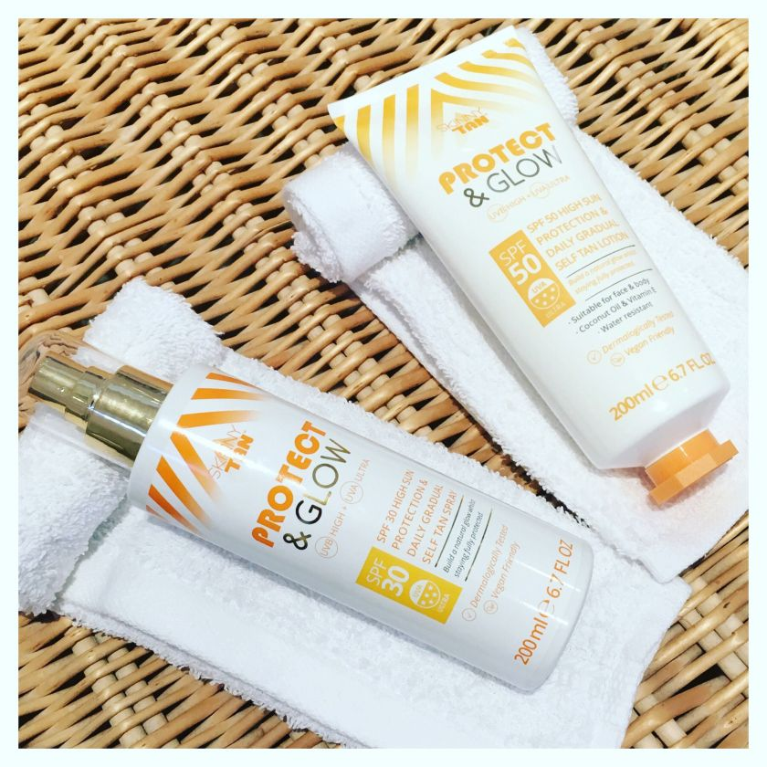 Skinny Tan ProtectandGlow GingerTalks